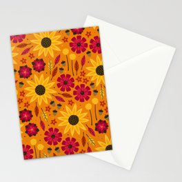 Fall is in th Air Stationery Cards