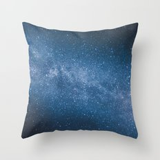 ocean of stars // Austria Throw Pillow