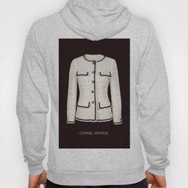 coco vintage black and white jacket Hoody