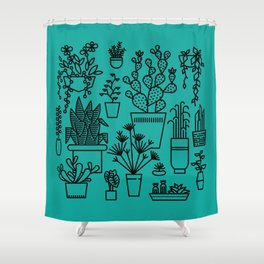 Botanical Sunroom Shower Curtain