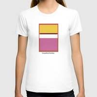 rothko T-shirts featuring Simplified Rothko by ELCORINTIO