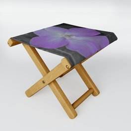 Impatient Grey Folding Stool