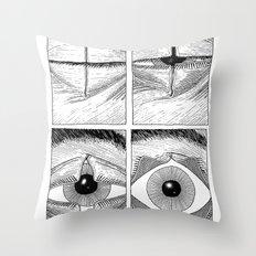 Subject Alpha Throw Pillow