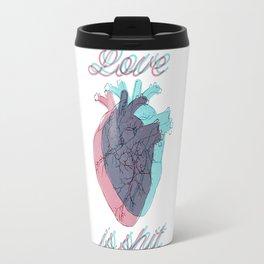 Love is shit Travel Mug