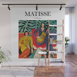 Matisse - La Musique Wall Mural