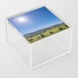 Castlerigg Stone Circle in English Lake District Acrylic Box