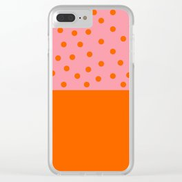 Spring mood Clear iPhone Case