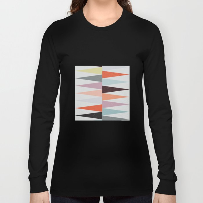Colorful Peaks Long Sleeve T-shirt