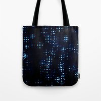 prism Tote Bags featuring Prism by noirblanc777