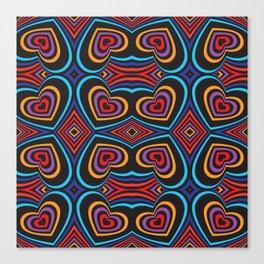 Three-dimensional volumetric pattern Canvas Print