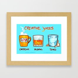 Creative Juices Framed Art Print