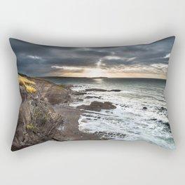 Sunrise on the cliffs Rectangular Pillow