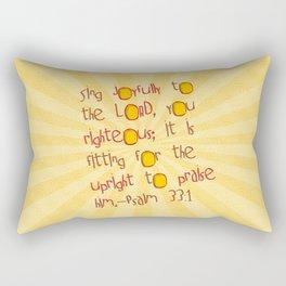 Sing Joyfully! Rectangular Pillow