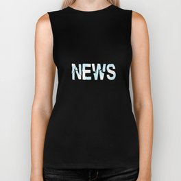 Breaking News Biker Tank