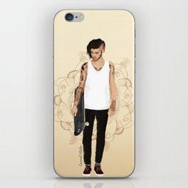 Skater Zayn  iPhone Skin