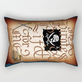 It's A Pirates Life For Me Rectangular Pillow