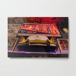 50's Diner Aesthetic Metal Print