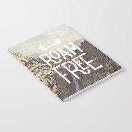Roam Free - Yosemite Notebook