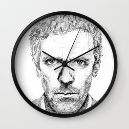 Hugh Laurie, House MD Wall Clock