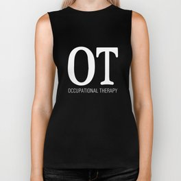 Occupational Therapy Graphic T-shirt Biker Tank