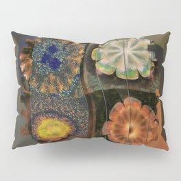 Faciolingual Concrete Flowers  ID:16165-090706-35861 Pillow Sham