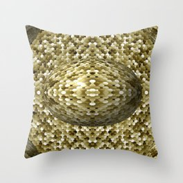 3105 Mosaic pattern #4 Throw Pillow