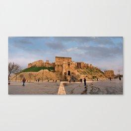 The Castle of Aleppo Canvas Print