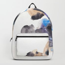 170714 Abstract Watercolour Play 10 |Modern Watercolor Art | Abstract Watercolors Backpack