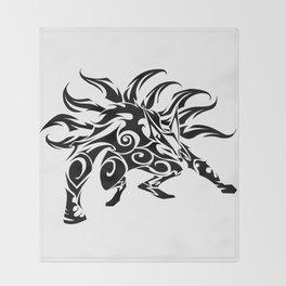 Kurama Tribal Throw Blanket