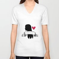 lydia martin V-neck T-shirts featuring Lydia Martin by smartypants
