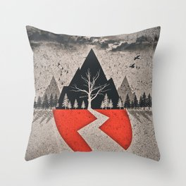 With Ears To See And Eyes To Hear Throw Pillow