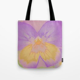 Pansies, The Earth Laughs In Flowers Tote Bag