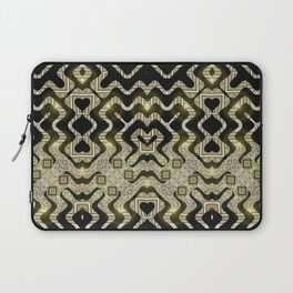 Tribal Gold Glam Laptop Sleeve