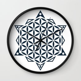 Flower of Life, Sacred Geometry Wall Clock