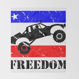 FREEDOM! Pre-Runner Throw Blanket