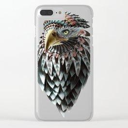 Fantasy Eagle Art Clear iPhone Case