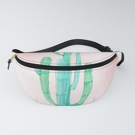 Desert Cactus Green with Rose Gold Sun Fanny Pack