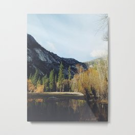 yosimite sunset Metal Print