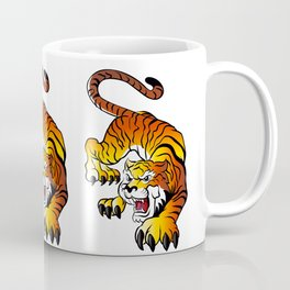 Japanese Tiger Coffee Mug