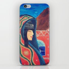 Balqees Alyemen iPhone Skin