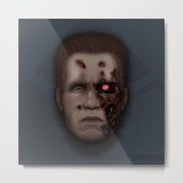 Icon Series 4: (Cyborgs 2/3) Model 101 Series 800 Terminator Metal Print