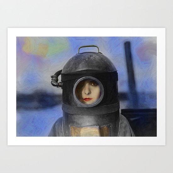 Heroine Art Print