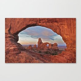 Arches National Park - Turret Arch Canvas Print
