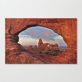 Arches National Park - Turret Arch Canvas Print