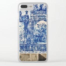 Azulejos in Portugal Clear iPhone Case