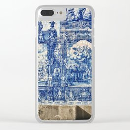 Azulejos in Portugal Clear iPhone Case