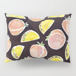 Peach & Taco Pillow Sham