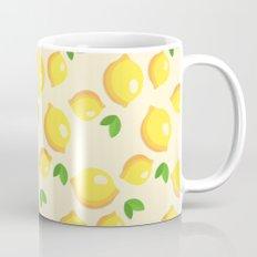 Lemon Pattern Mug