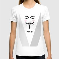 anonymous T-shirts featuring Anonymous by Nena Loca
