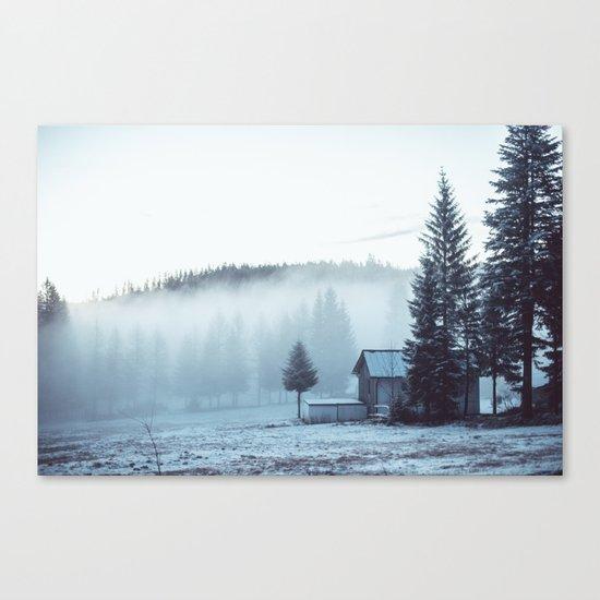 Foggy Memories Canvas Print